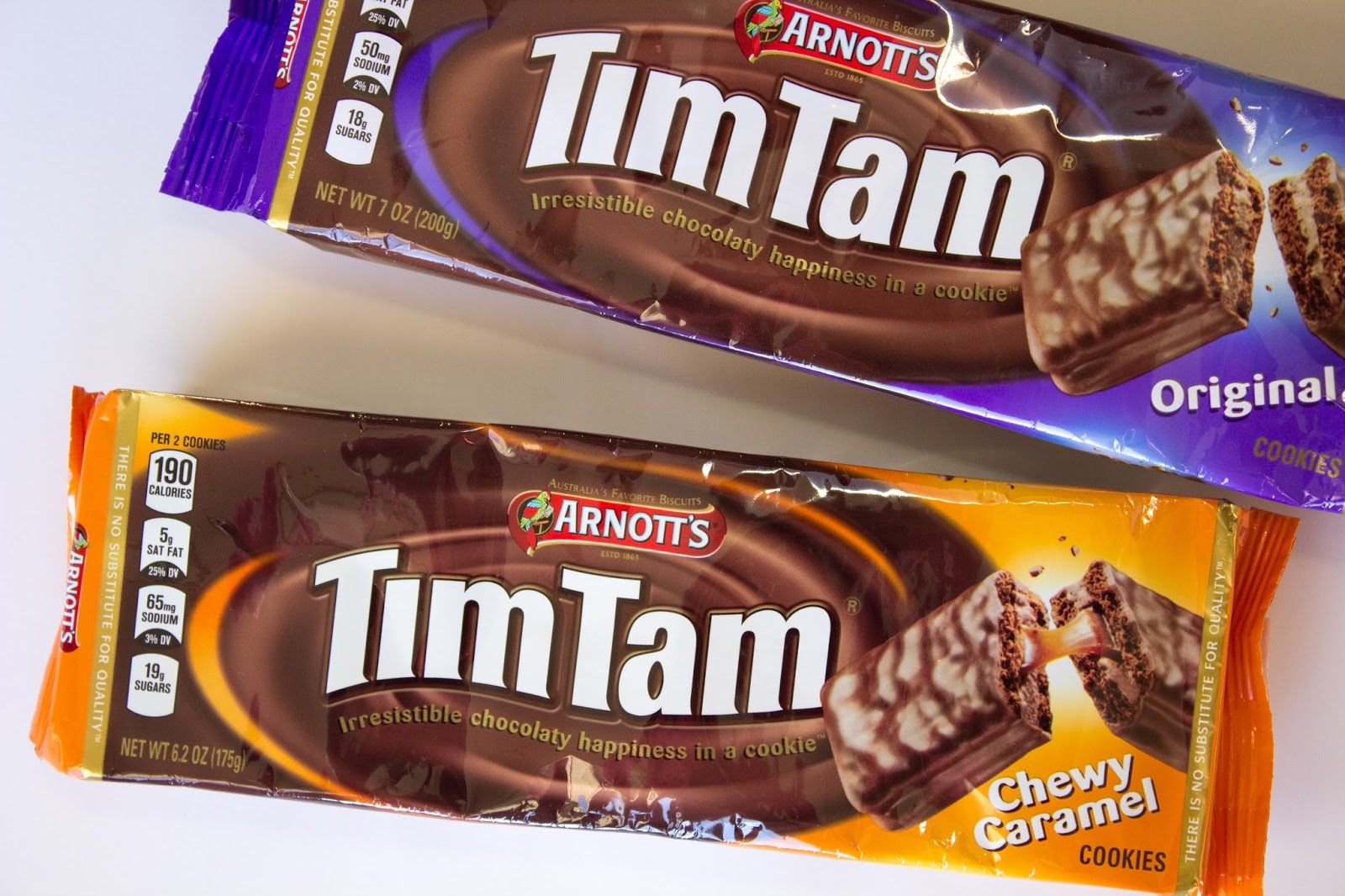 how to explain tim tams