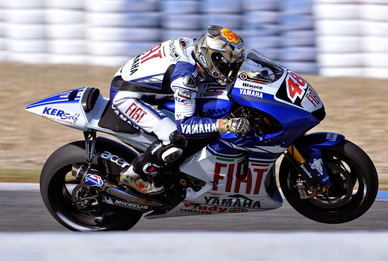 Jorge Lorenzo 2 años más con Yamaha