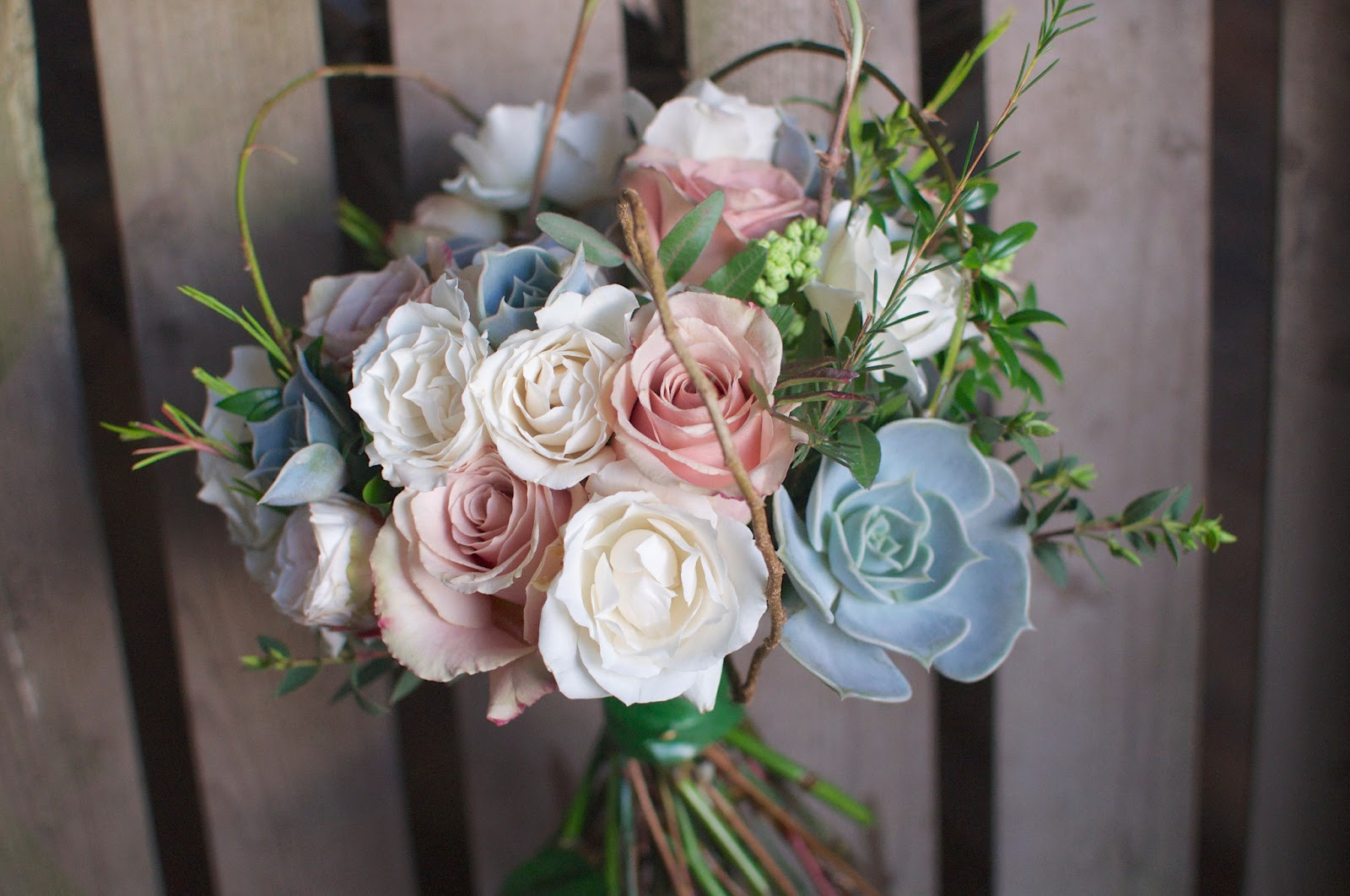 Wedding Bouquets In April : April wedding flowers rose and grace