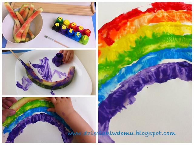 arbuzowe prace plastyczne dla dzieci