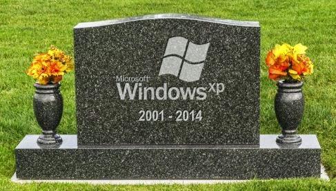 Windows XP sudah berakhir