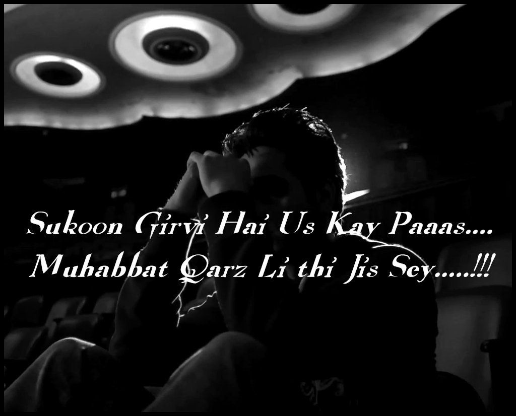 Dard Bhari Poetry By A Upset Boy ~