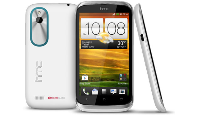 HTC Desire X White Front Side