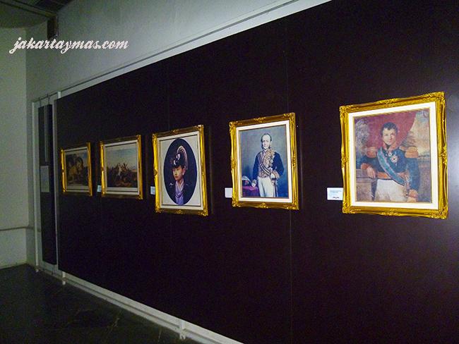 Cuadros antiguos en el Museum Sejarah Jakarta