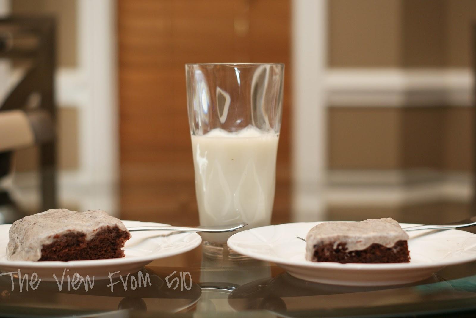 Oreo Poke Cake With Condensed Milk
