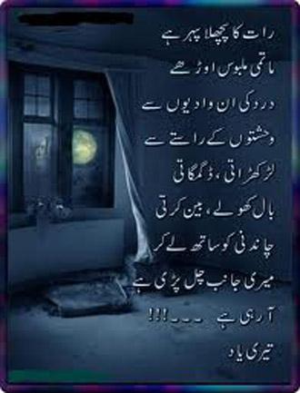urdu poetry and shayari ghazals january 2013