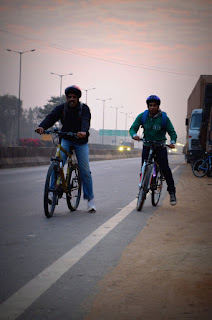 Bicycle Trip to Shivaganga, Tumkur