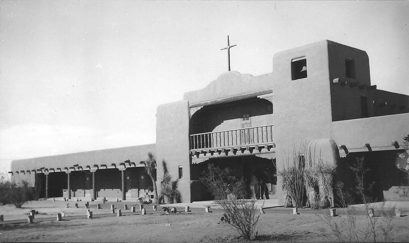 St. Michael and All Angels Church as of December 26, 1953.