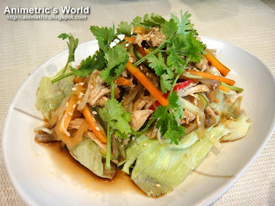 Chinese-Style Chicken Salad at Zong