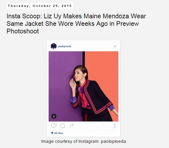 Maine Mendoza and Liz Uy same jacket