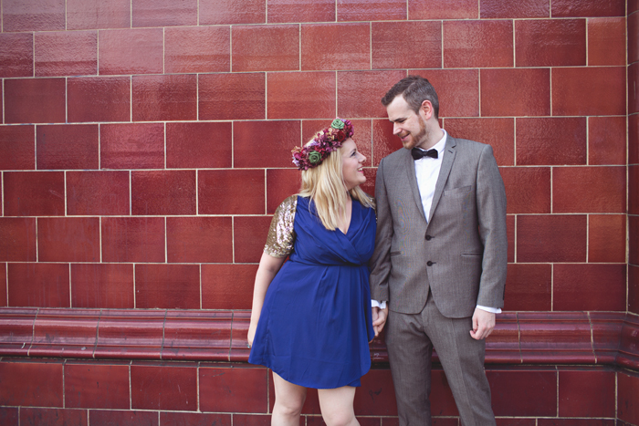 Intimate London wedding. Quirky, alternative wedding photography. Hannah Millard Photography.