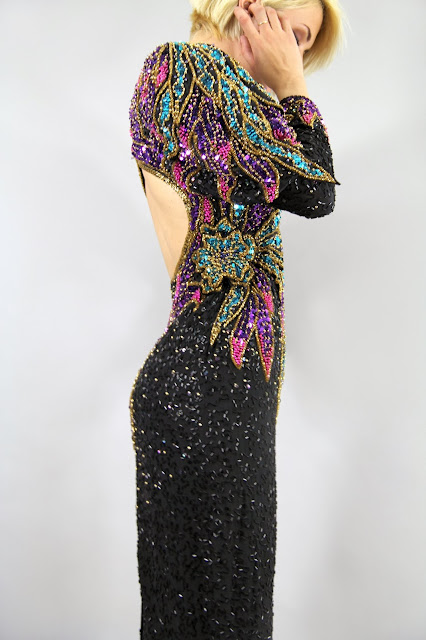 https://www.etsy.com/listing/104738912/vintage-dynomite-sequin-gown-multicolor