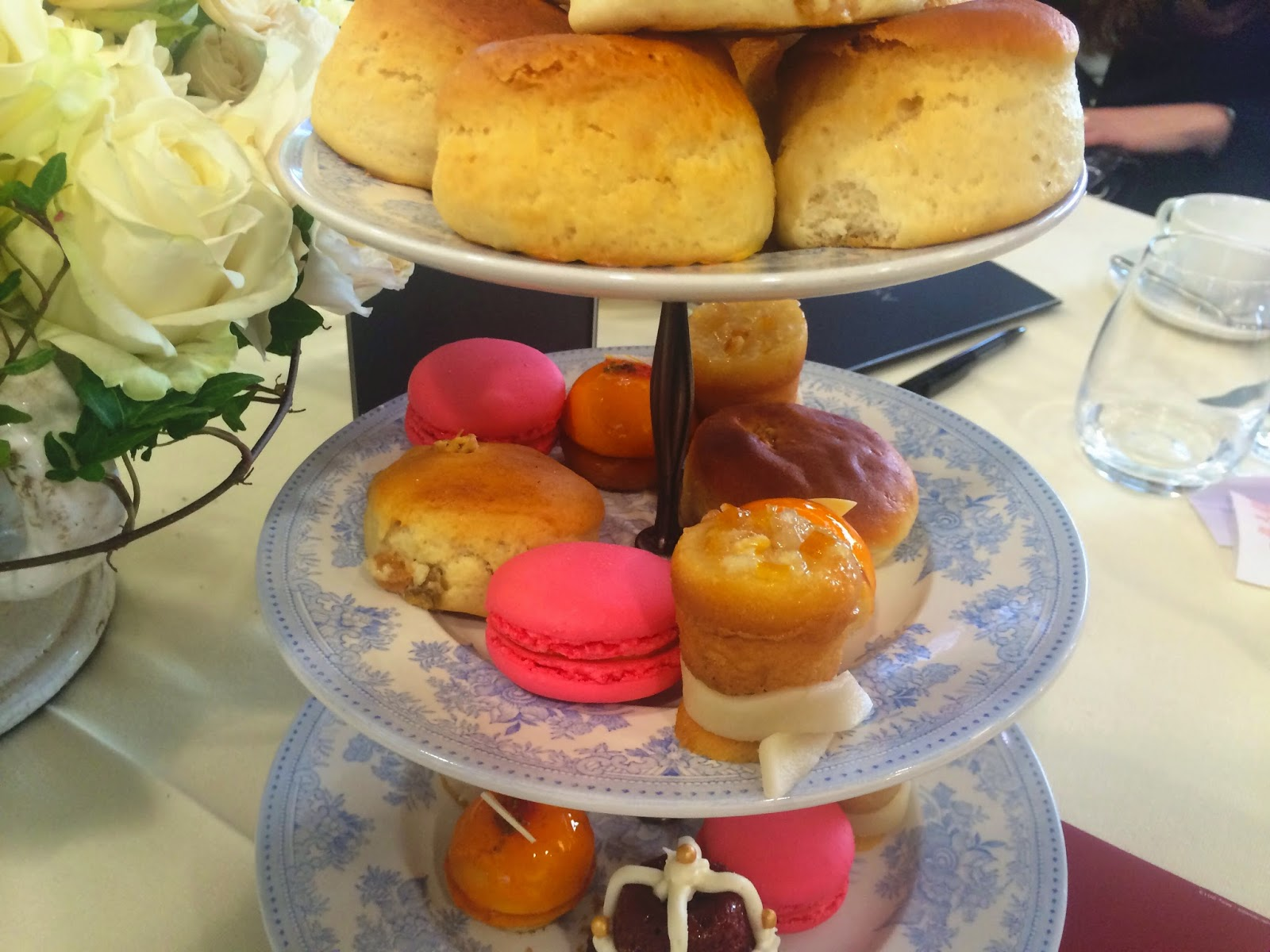 Afternoon tea - Parade Ring Restaurant - Ascot