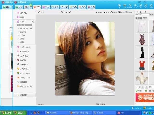 MENGEDIT PHOTO DENGAN XIU XIU MEITU VERSION 3.9.1