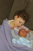 2011: Napping with Newborn Caleb