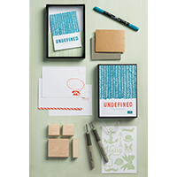 Undefined!  Stamp Carving Kit