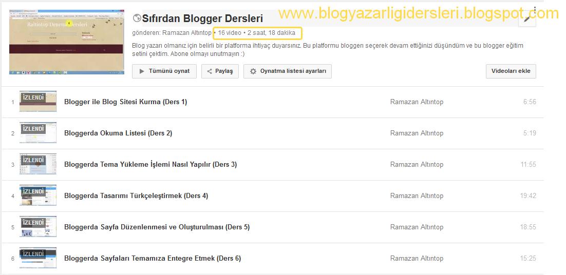 Blogger Eğitim Seti Full İndir İzle 2014