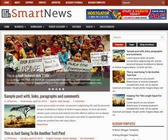 Smartnews Template Blogspot