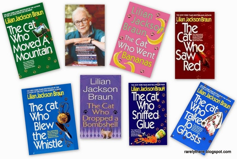 Lilian Jackson braun The Cat Who books Qwilleran