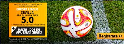 betfair Sevilla gana Dnipro supercuota 5 Final Europa League 27 mayo
