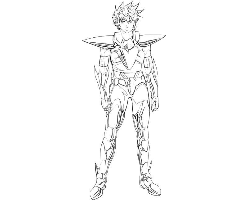 printable-pegasus-koga-armor-coloring-pages