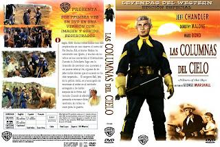 Carátula dvd Las columnas del cielo