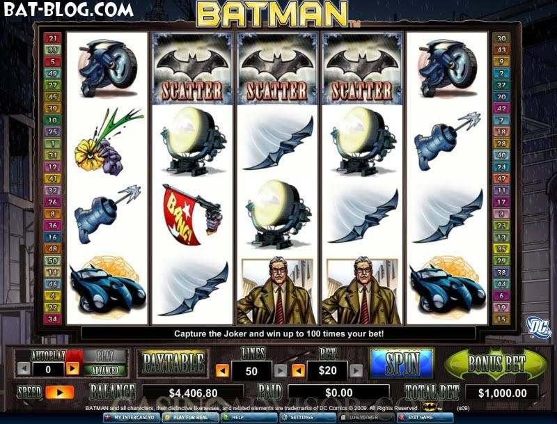 batman and robin casino games slots machines