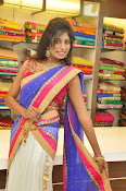 Mounika Reddy Glam pics in Half saree-thumbnail-14