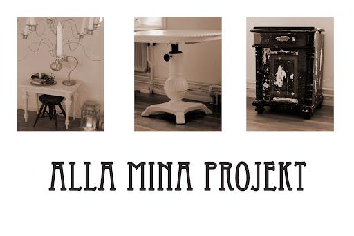 Alla mina projekt
