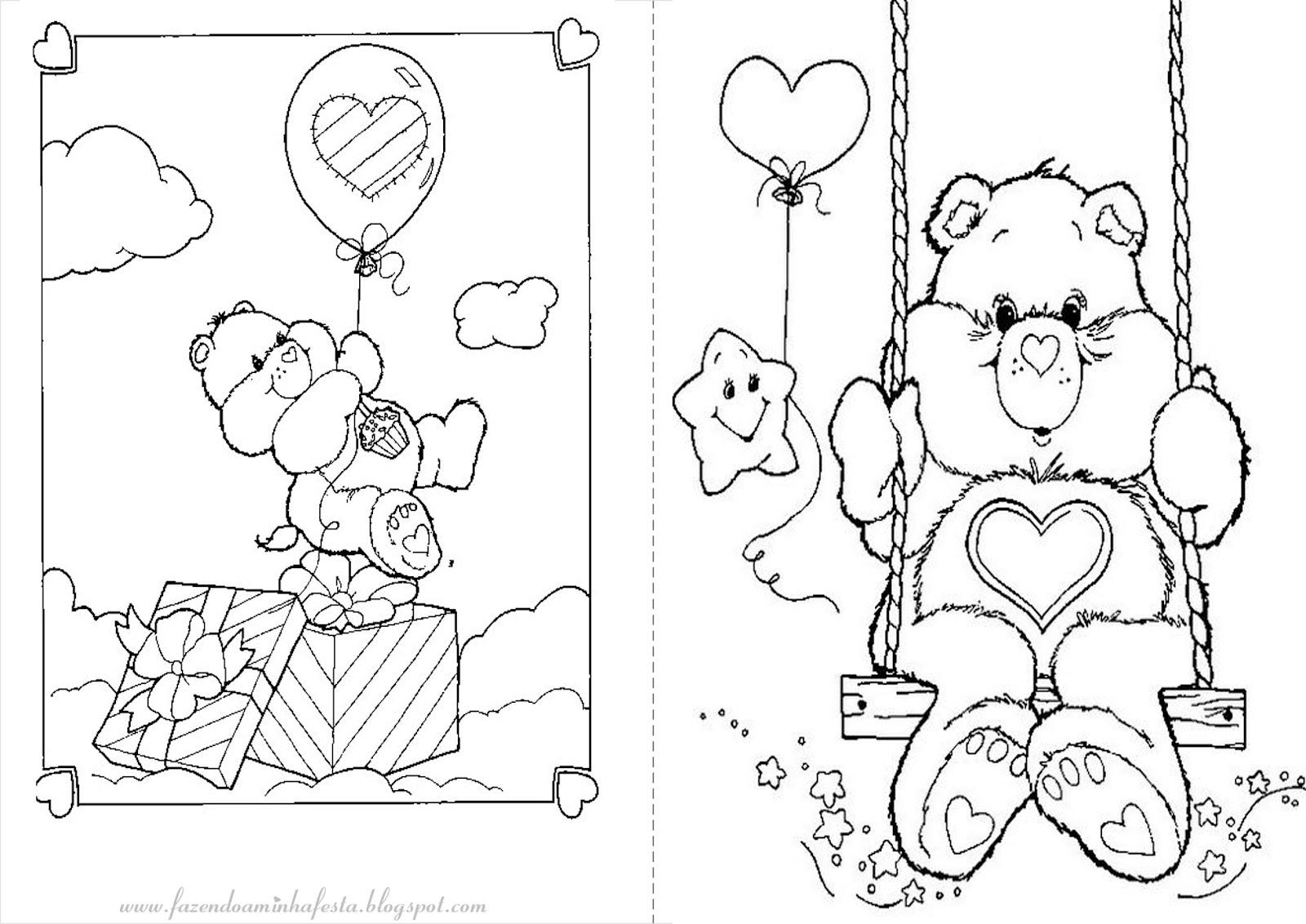portal a&e espaco kids a&e colorir ursinhos carinhosos