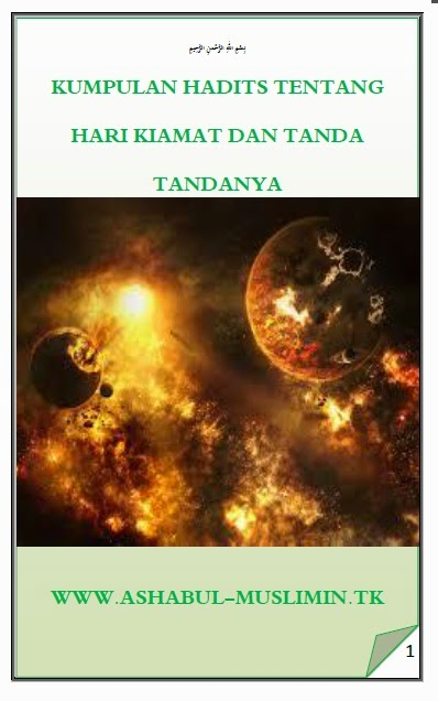 DOWNLOAD EBOOK KUMPULAN HADITS TANDA KIAMAT