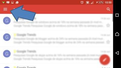 Como colocar assinatura no Gmail Android