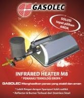 Gasolec Infrared Heater (Pemanas Teknologi Eropa)