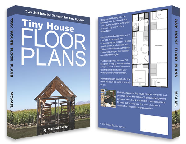 Free tiny house cabin plans blueprints from michael janzen and his new book - Books on home design ...