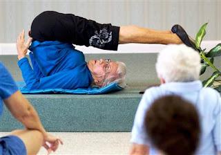 Guru Yoga Tertua di Dunia, 91 Tahun