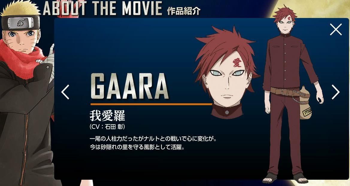 [News e Opiniões] Naruto - The Last Movie Gaara