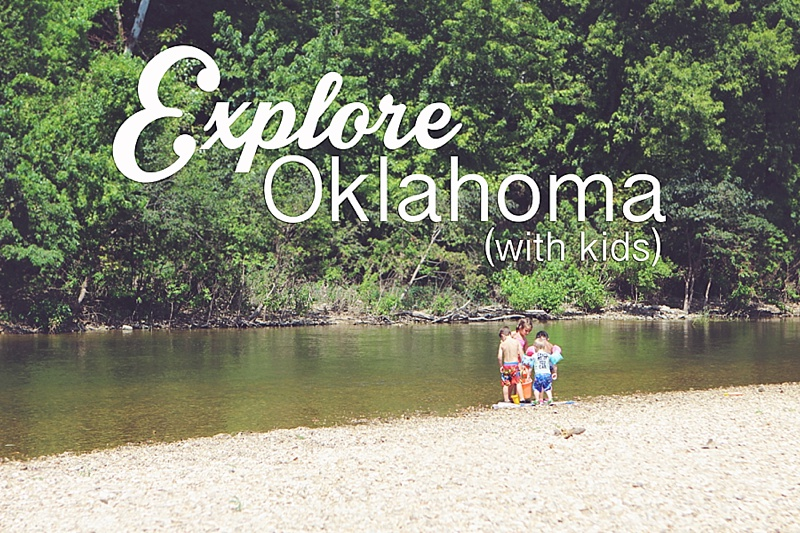 Explore Oklahoma State Parks with kids by The Persimmon Perch