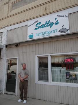 Breakfast At Sally S Restaurant In Forest City Iowa