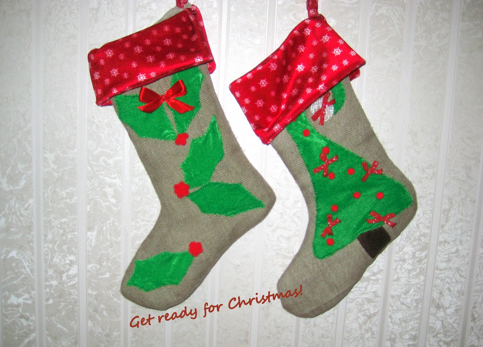 Новогодние сапожки для подарков своими руками фото 16