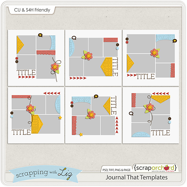 http://scraporchard.com/market/Journal-That-Digital-Scrapbook-Templates.html