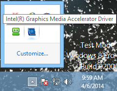 intel old version drives on win 8
