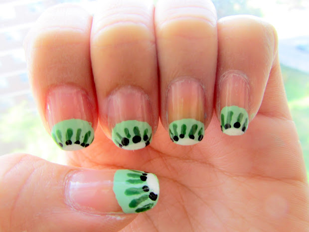 ohmisselle kiwi - nail art