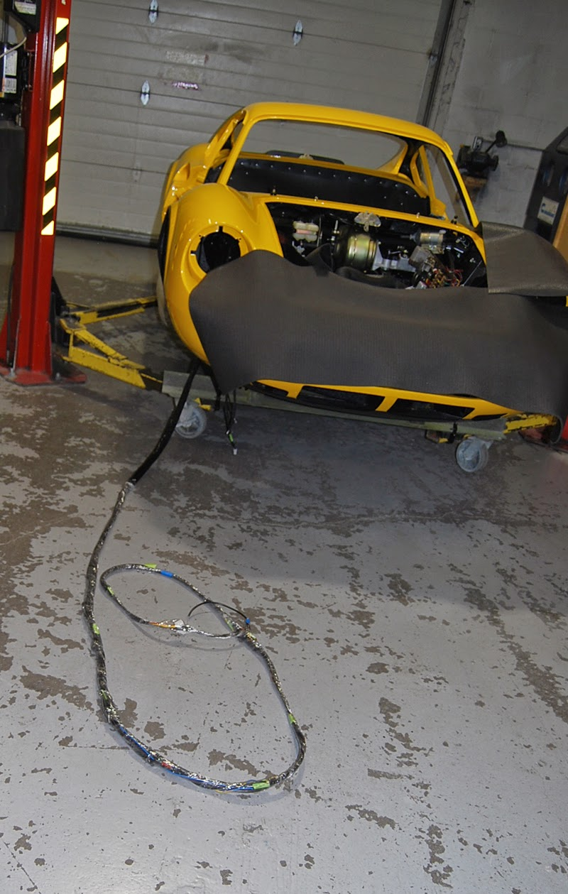 Dino 246 Restoration Blog Path Of Least Resistance Wiring Harness Design Jobs In The End While We Have Lamented About Some Terrible On This Car However With Task Being Done Early Build Installation Went