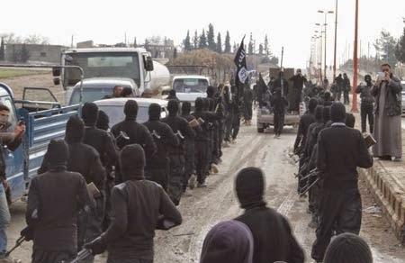 Pawai Pejuang ISIS