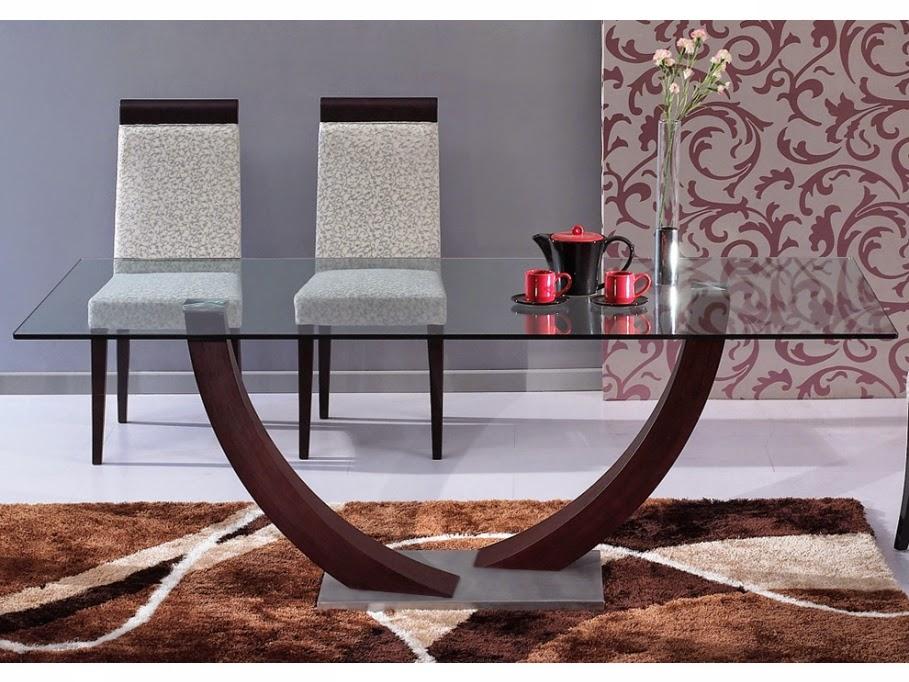 Muebles modernos mesas de comedor parte 2 for Mesas para comedores pequea os