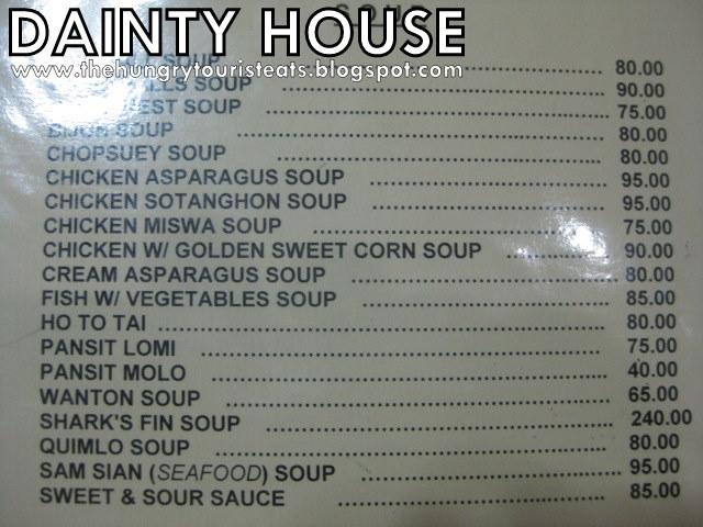 The Hungry Tourist Eats: Dainty House