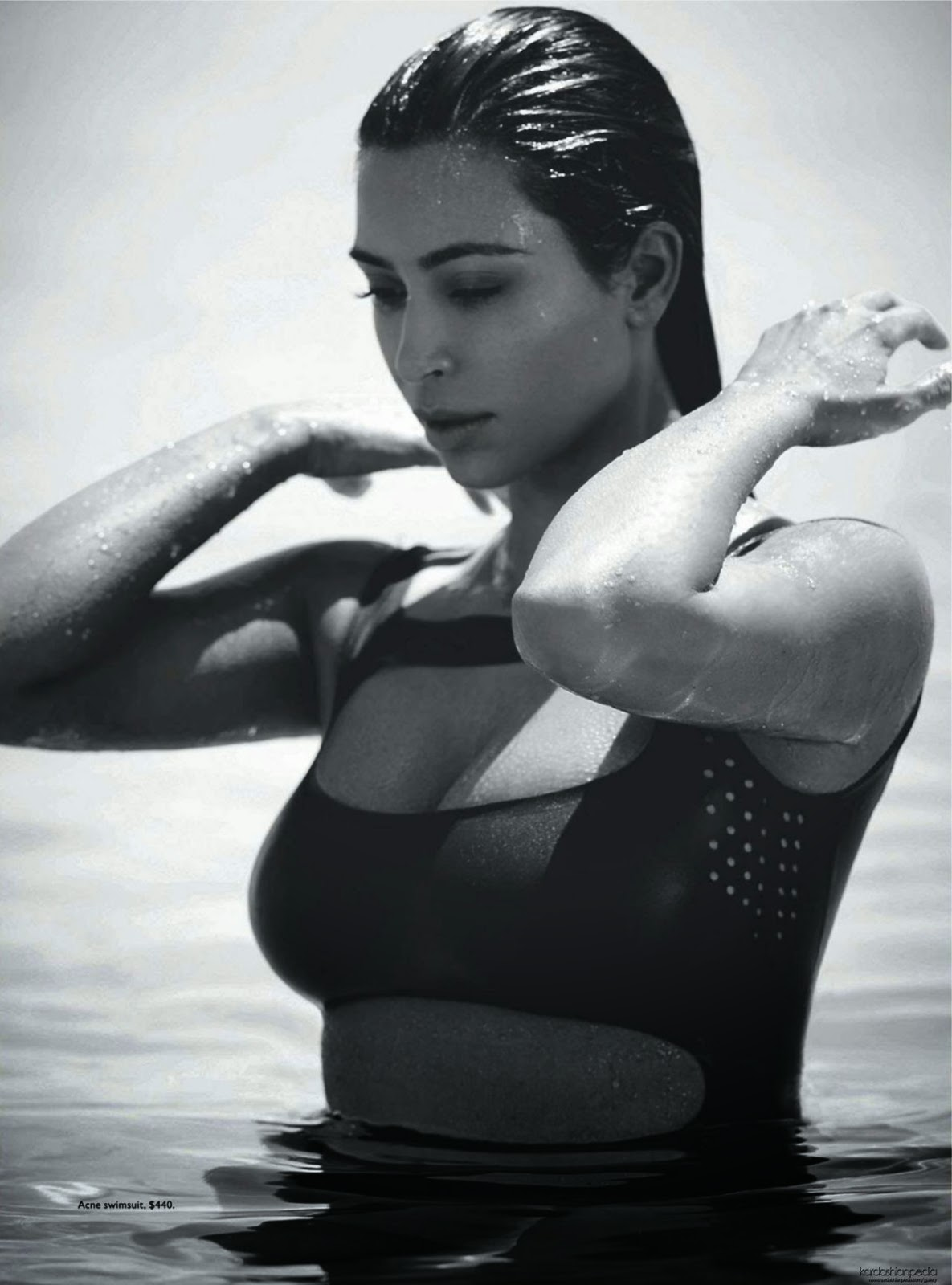 Kim Kardashian – Vogue Magazine (Australia) February 2015 Issue