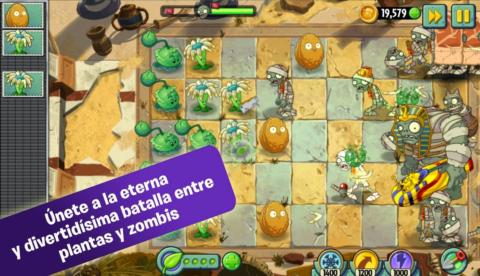 descargar plantas vs zombies 2 para android gratis en espanol completo