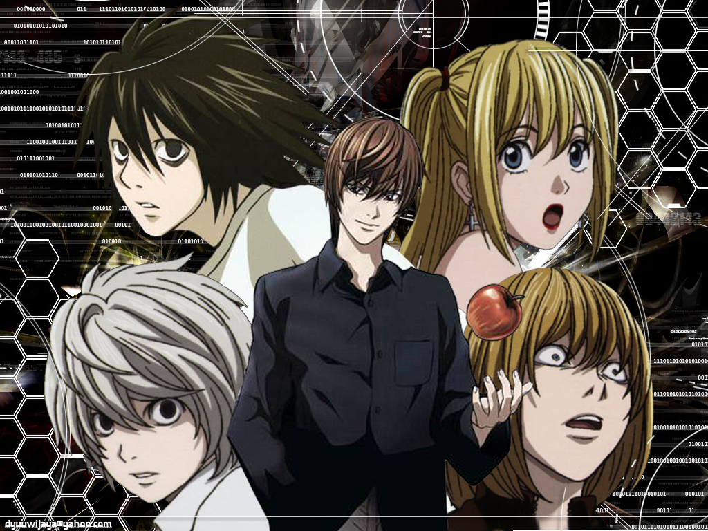 Anime Characters With 3 Letter Names : Anime manga death note