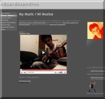 Eduardo Sandino's Guitar